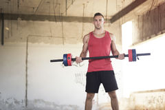Weightlifting Royalty Free Stock Photo