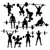 Weightlifting Sport Activity Royalty Free Stock Images