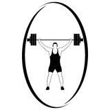 Weightlifting-1 Stock Image