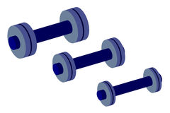 Group of weights  Royalty Free Stock Photo