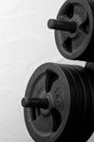 Weightliftingabstrakt begrepp Royaltyfria Bilder