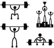 weightliftingen Royaltyfria Bilder