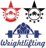 weightliftingen Royaltyfri Fotografi