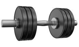 Weightliftinggewichte Lizenzfreies Stockbild
