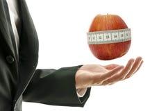 Weightloss教练 免版税库存照片