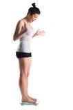 Weightloss Ausführung. Lizenzfreies Stockfoto