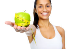 Weightloss concept Stock Images