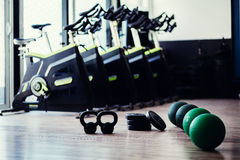 Weightloss fitness accessories Stock Image