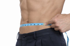 Weightloss results Royalty Free Stock Image