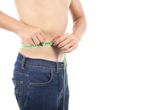 Weightloss Royalty Free Stock Images