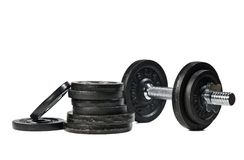 Free Weights Royalty Free Stock Image - 19381166