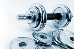Weights or dumbbells Royalty Free Stock Photos