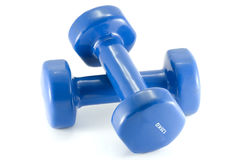 Weights fitness Stock Images