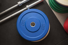 WEIGHTS GYM Royalty Free Stock Images