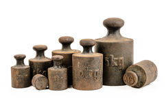 Weights Royalty Free Stock Images