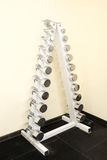 Weights and other sport equipment Stock Images