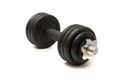 Weights,  on white background Stock Photos