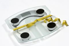 Weightwatcher Photographie stock libre de droits