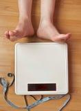 Weighty fråga Arkivbild