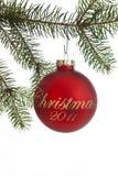 Weihnachten 2011 Stockfotografie