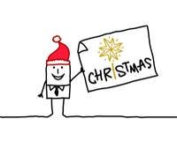 Weihnachten! Lizenzfreies Stockfoto
