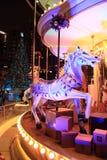 Weihnachten angemessen in Hong Kong Stockbild
