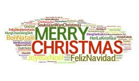 Weihnachten auf der ganzen Welt stockbild