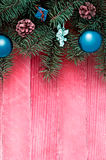 Weihnachten-backgoubd Stockfotografie