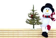 Weihnachten-backgound Weiß. Lizenzfreie Stockfotografie