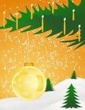 Weihnachten background11 lizenzfreie abbildung