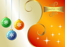 Weihnachten Backround lizenzfreie abbildung