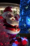 Weihnachten in Bangkok, Thailand Stockfotos