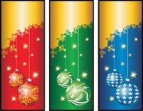 Weihnachten banners.cdr Stockfotografie