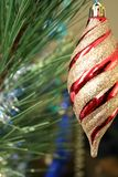 Weihnachten-Baum Dekoration stockfotos