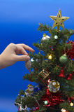 Weihnachten-Baum Dekoration Stockbilder