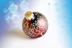 Weihnachten-Baum Dekoration Stockfotografie