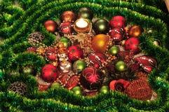 Weihnachten-Baum Dekorationen Lizenzfreie Stockbilder