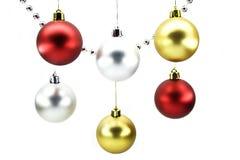 Weihnachten-Baum Dekorationen Stockfotografie