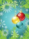 Weihnachten-Baum Dekorationen Stockbilder