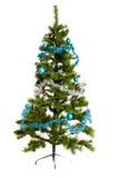 Weihnachten-Baumdekorationsguten rutsch ins neue jahr Stockbild