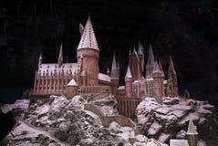 Weihnachten bei Hogwarts lizenzfreie stockfotos
