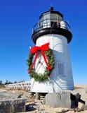 Weihnachten bei Nantucket lizenzfreie stockbilder