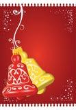 Weihnachten Bell stock abbildung