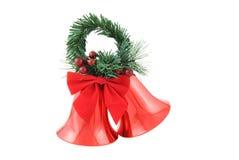 Weihnachten Bell Lizenzfreie Stockfotos