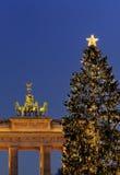 Weihnachten in Berlin lizenzfreies stockfoto