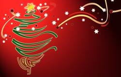 Weihnachten BG stock abbildung