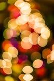 Weihnachten-bokeh Lizenzfreie Stockfotografie