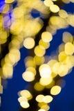 Weihnachten-bokeh Lizenzfreie Stockbilder