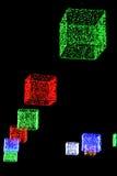 Weihnachten-bokeh - abstraktes Muster Lizenzfreie Stockfotos