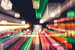 Weihnachten-bokeh - abstraktes Muster Stockbilder